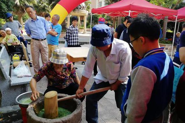 享美食赏民俗 宁波福明家园社区里的集市真热闹