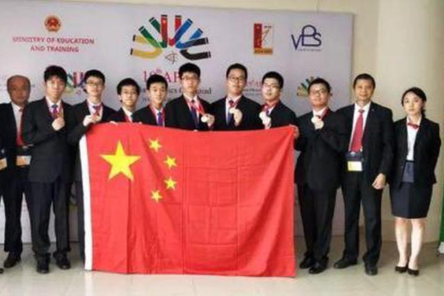 镇海中学学生王丁立获奖了 拿下亚洲物理奥赛金牌
