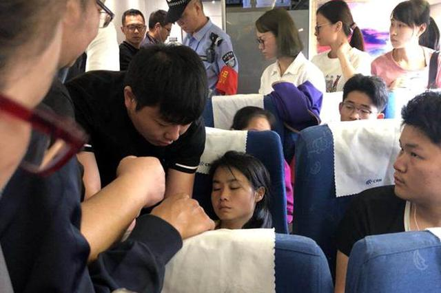 高铁上女子突晕厥 4位宁波医生挺身而出