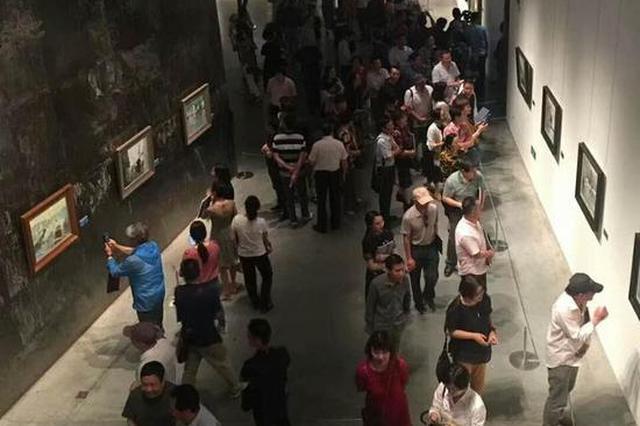 宁波本土油画家开展 北漂六年后首次宁波个展揭幕