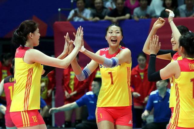 世界女排联赛北仑站:中国女排零封比利时取得两连胜