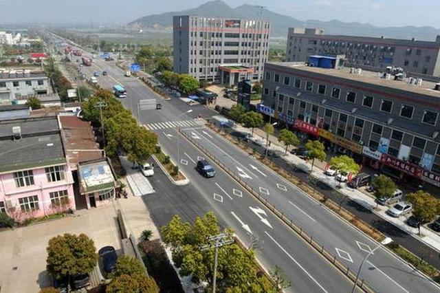 鄞横线完成升级改造 鄞州首条美丽经济交通走廊亮相