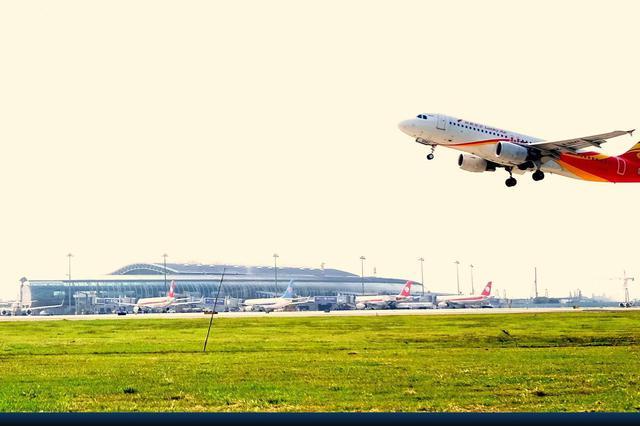 受台风玛莉亚外围影响 宁波机场取消6个进出港航班