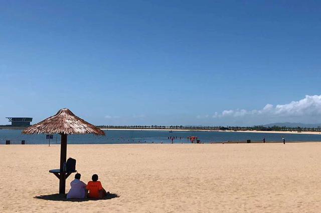 北仑梅山湾沙滩公园将于本月16日开始局部试运营