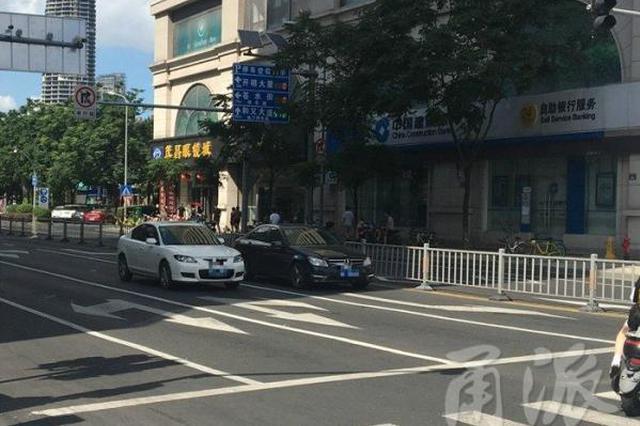 宁波司机开车躲在阴凉处等红灯 属于违法行为