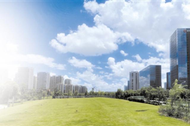近日宁波蓝天白云 全市PM2.5浓度最低只有6微克
