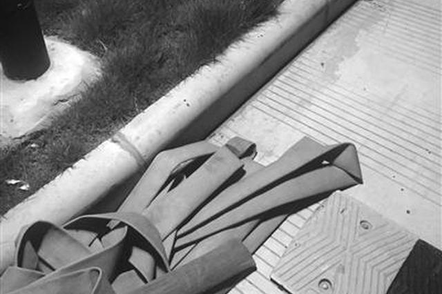宁波深夜有人偷水浇绿植 消防栓惨遭暗算