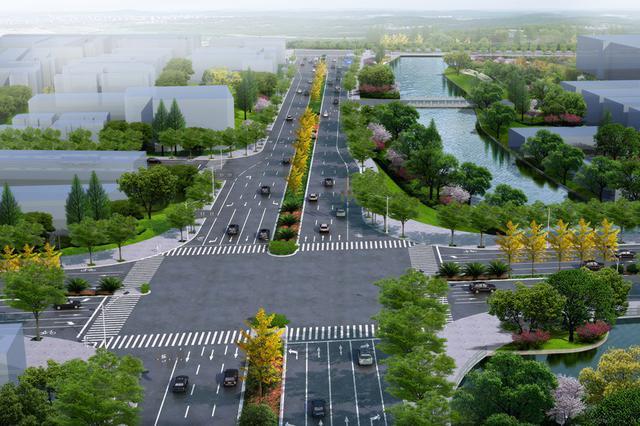桑田北路新建可期 鄞州江南片区又多一条南北的通道