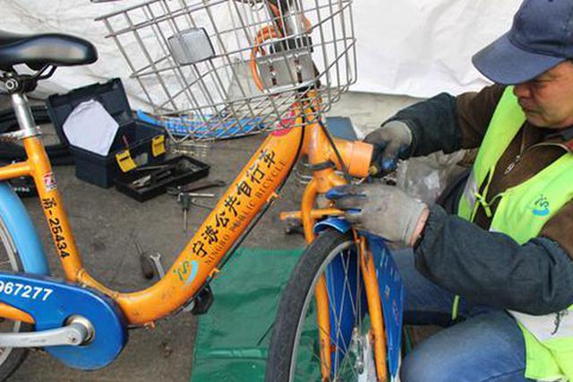 宁波公共自行车累计租车量超1.48亿次 租骑率达98.2%