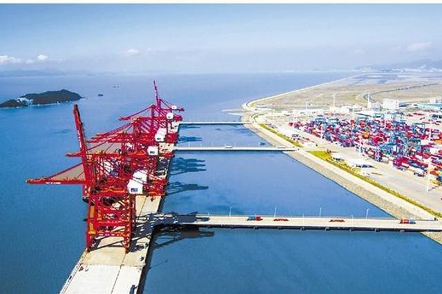 上半年集装箱吞吐量宁波舟山港全国第二