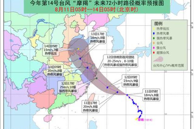 宁波防台风应急响应提升为Ⅲ级 郑栅洁裘东耀作出批示