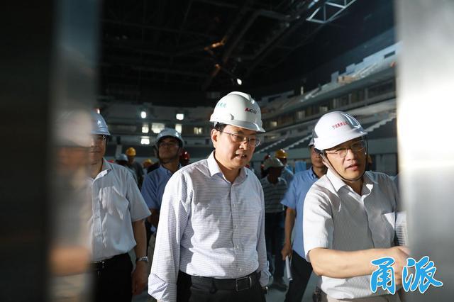 宁波市重点工程进入抢建设模式 裘东耀现场督查进展