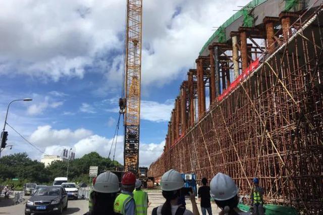 轨道交通2号线二期有新进展 高架段工程基本完工