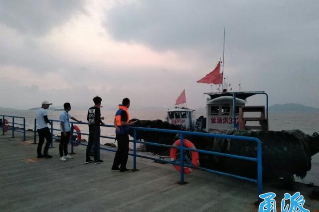 受台风温比亚的影响 宁波上千条捕捞渔船回港避风