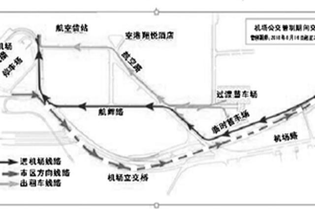 甬机场部分道路今起交通管制 让路机场三期扩建工程