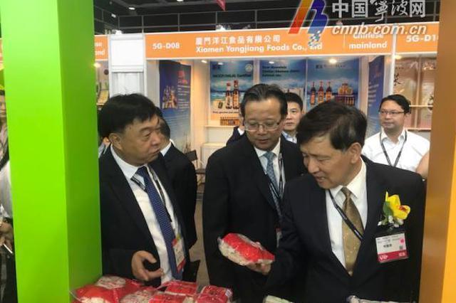 300余种宁波土特产亮相香港美食博览会