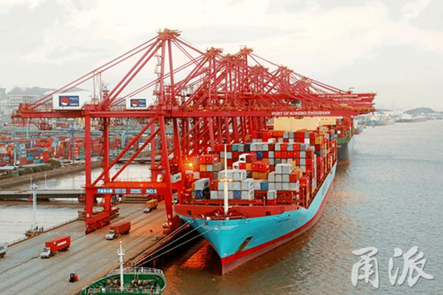 宁波舟山港2个项目建设取得重大进展 下一步推动实行