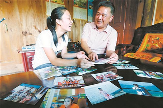贵州女孩与宁波小草队长失联十年再话助学情