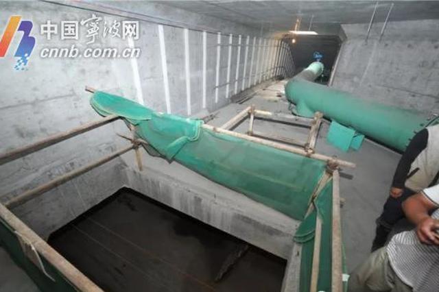 经过两年多的建设 杭州湾新区建成宁波最长地下综合管廊