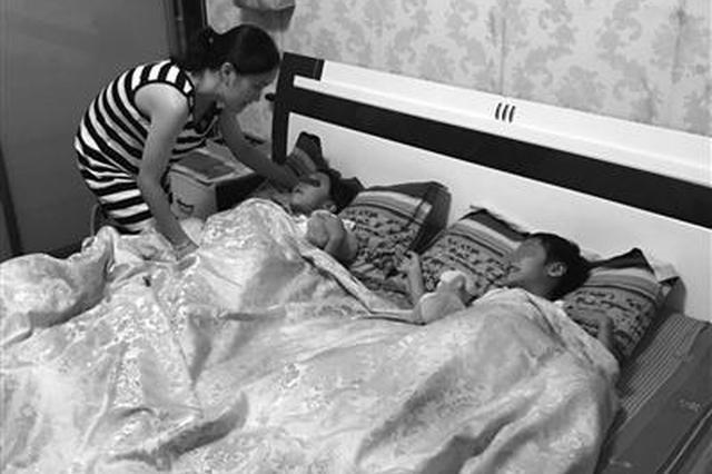 父亲被刑拘留下两个女儿无人照看 宁波多方爱心接力