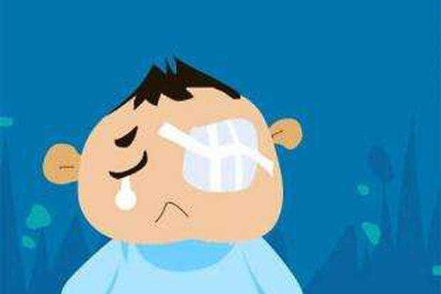 摘板栗差点赔上一只眼睛 鄞州男子右眼被扎进三根毛刺