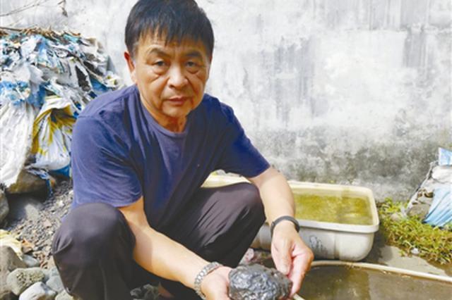宁波1男子6年收藏陨石70吨 他想开个陨石博物馆