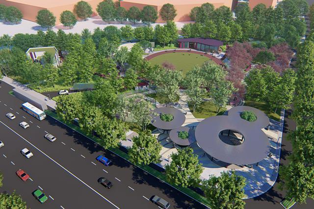 既是公园又是交通转换地 永泰公园规划方案过审