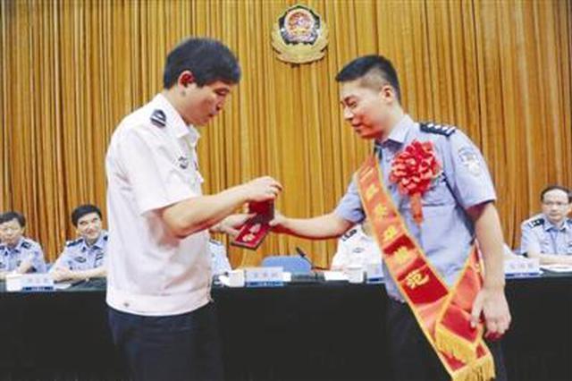 彰显公安铁军形象 余姚民警胡建江获授二级英模奖章