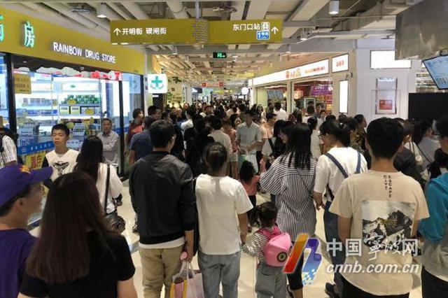 长假期间宁波地铁客流爆棚 近40万人受惠轨道公交换乘