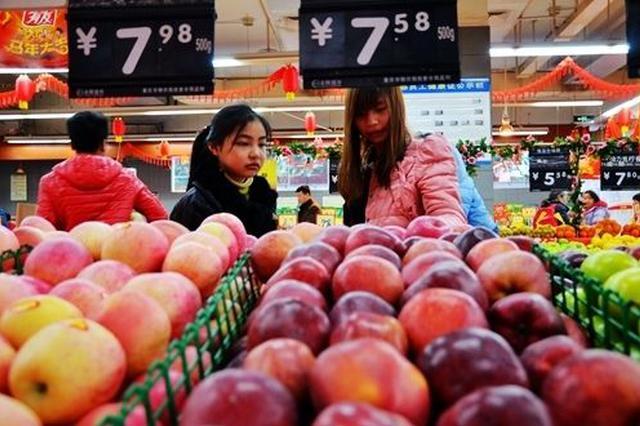 一星期一箱苹果涨价70元 宁波人最爱的水果涨声一片