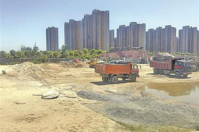 宁波常洪隧道南岸沙场搬迁完工 甬江南岸景观带连成一片