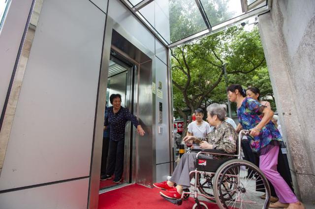 宁波1个安置老小区装电梯 230户居民没掏一分加装费
