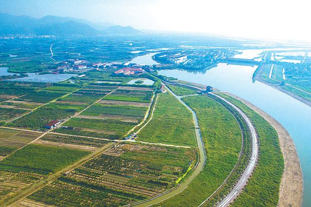 宁波大嵩江上榜浙江美丽河湖 保一方平安现一派美景