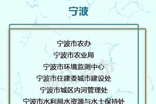 浙江一项工作获全国考核优秀 宁波30个单位受到省里表扬