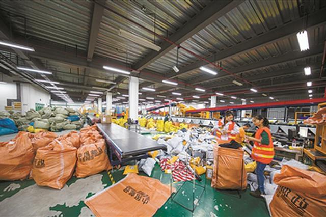 宁波进出境邮件突破3000万件 高峰期单日突破10万件