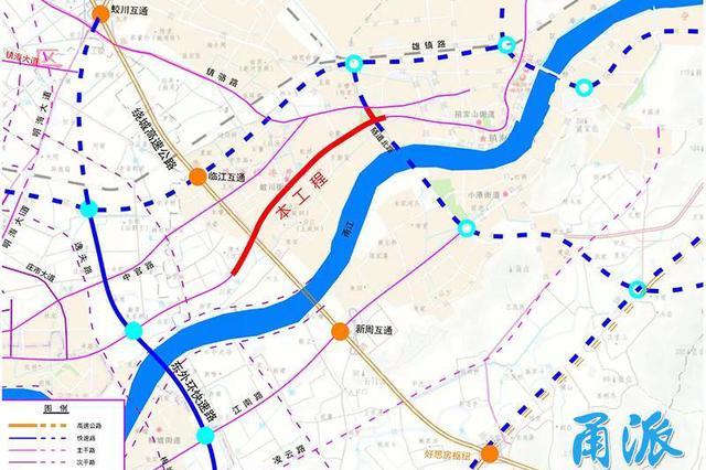 连接江北与镇海的宁镇路二期工程要动工 效果图抢先看
