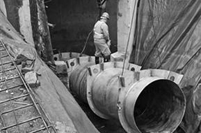 横东引水工程栎斜分水井完工 预计明年向东钱湖水厂供水