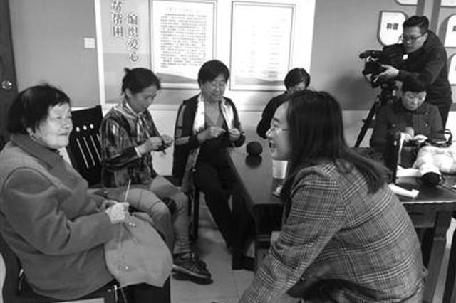 曾被央视报道的宁波毛衣奶奶 带动20多人成立爱心作坊