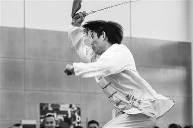 甬三角传统武术大赛举行 700名武林高手镇海华山论剑