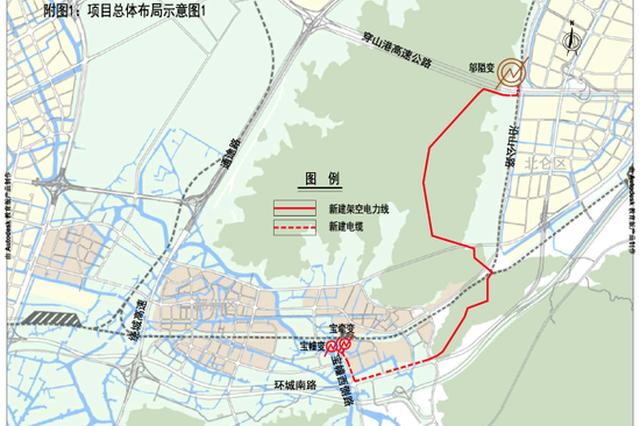 涉及两市两区 宁波两处供电工程选址出炉