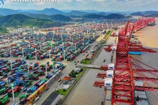 11个月10个亿 宁波舟山港年货物吞吐量有望10连冠