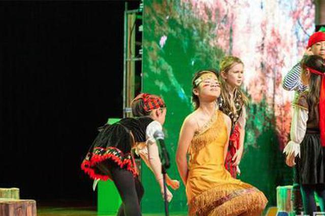 宁波小学生纯英文演绎音乐剧《彼得·潘》