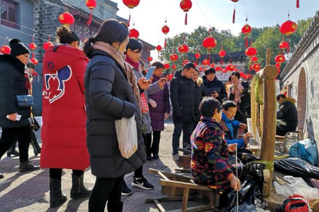 宁波古林传统文化米食节迎新年 还有非遗项目等活动