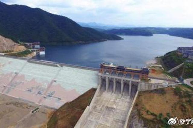 1.26亿方优质用水入甬来 钦寸水库今年将为宁波解渴