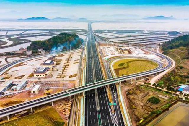 三门湾大桥昨正式通车 宁海象山融入宁波1小时交通圈