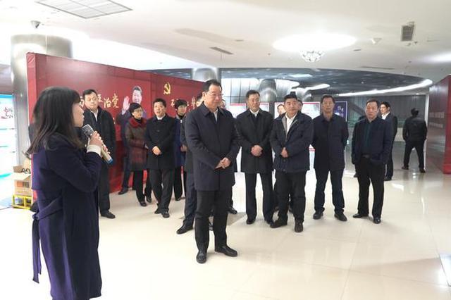 象山四套班子领导参观宁波党员干部违法纪典型专题展