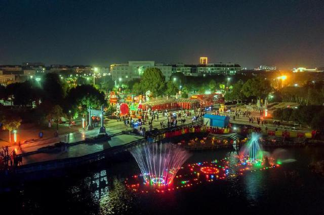 余姚第十二届泗门元宵灯会 吸引6万人次前来赏灯观灯