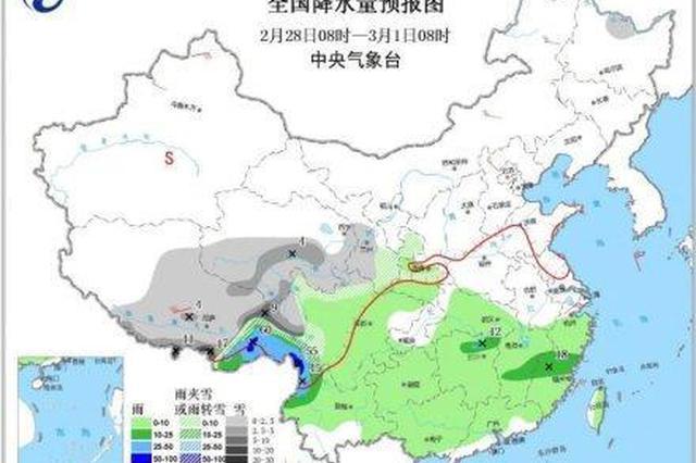 宁波回归阴雨天 未来三天将有中到大雨局部暴雨
