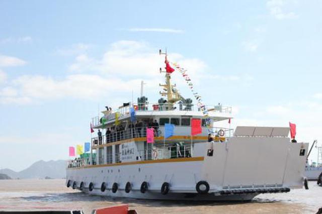 舟山东海神珠将进行年度修理 桃花至郭巨客轮时间调整