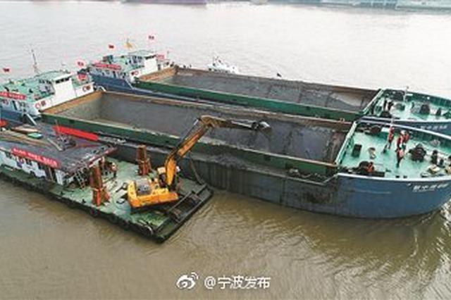 甬江主航道计划半年内清淤80万立方米